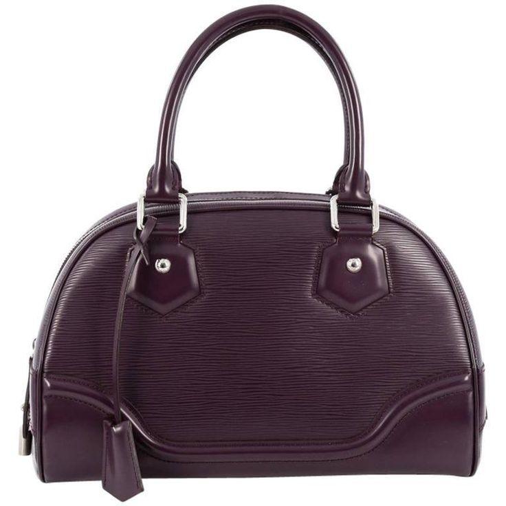 Louis Vuitton Montaigne Bowling Bag Epi Leather PM