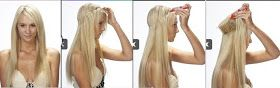 A Model's Secrets: Kelly Ripa's halo hair extensions - Exclusive insider tip on where to get it!
