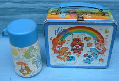 Doesn't this take you back? Love the Care Bears lunchbox!