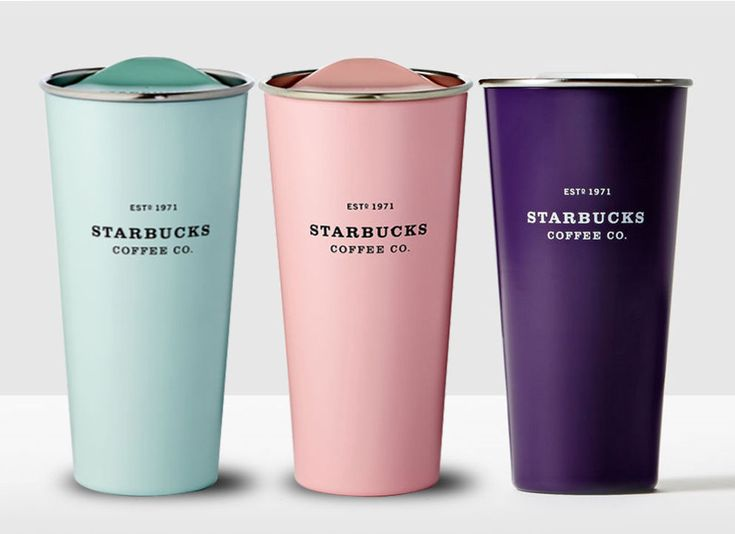 Stainless Steel To Go Mint Pick Purple Tumbler 3EA 473ml Germany import directly #Starbucks