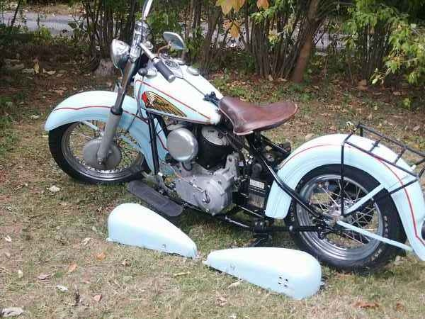 1938 Indian Chief Motorcycle Bikers Dream Motorcycles