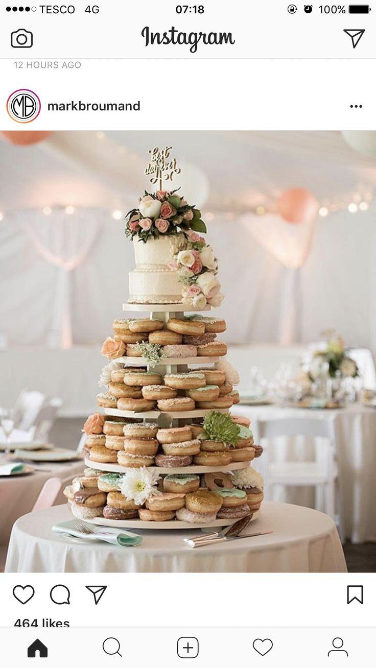 Pin by Annabel Brinkmeyer on I DO~ | Donut wedding cake ...