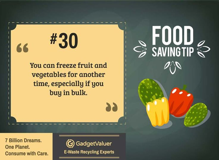 Food Saving Tip 30 | 150+ Sustainability Resources | #WED2015 #7BillionDreams #Sustainability
