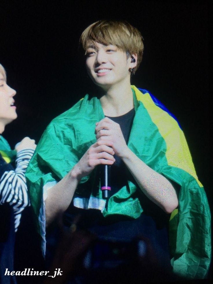 BTS - Jungkook, The Wings Tour In São Paulo, Brazil