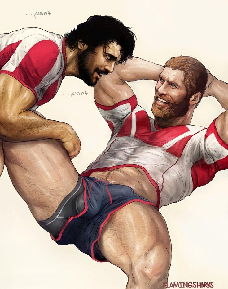 gay men erotic