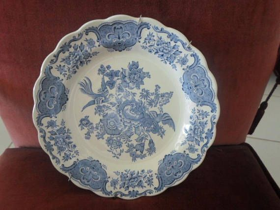 Ridgway porcelain decorative plate vintage.