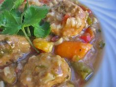 Slow Cooker Mexican Meatball Soup. Easy. Healthy. Delicious. 279 calories. 5 SmartPoints 7 Points Plus http://simple-nourished-living.com/2014/03/slow-cooker-mexican-meatball-soup-recipe/ #weightwatchers #slowcooker #smartpoints