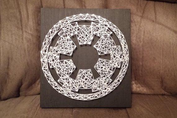Star Wars Imperial string art
