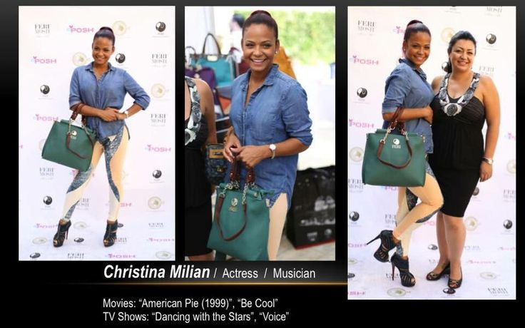 Christina Millian wearing our FERI