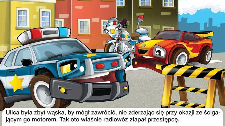 Bajka dla dzieci - Policja - Baśń
