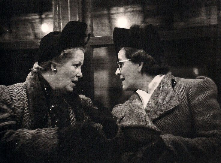 """On the subway, by Walker Evans.   Evans once said, """"With the camera, it's all or nothing. You either get what you're after at once or what you do has to be worthless."""""""