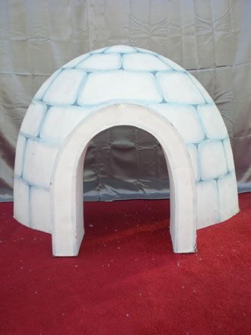 Igloo Craft For Kids