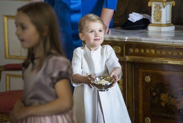 Принцесса Швеции Эстель; кронпринцесса Швеции Виктория
