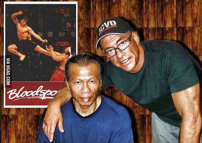Bolo Yeung y Jean Claude Van Damme   Crecimos con ellos y ...