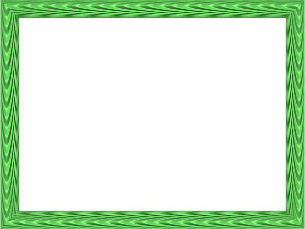 green border png | Colorful Frames And Borders Png This ...