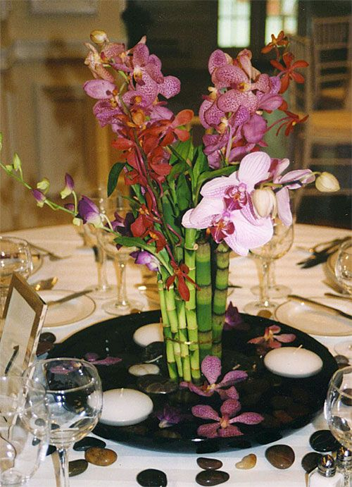 """orchids and bamboo- a must for my """"one day"""" zen wedding"""