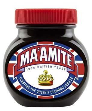 The Queen's Diamond Jubilee special edition Ma'amite...got to get me a jar of this!