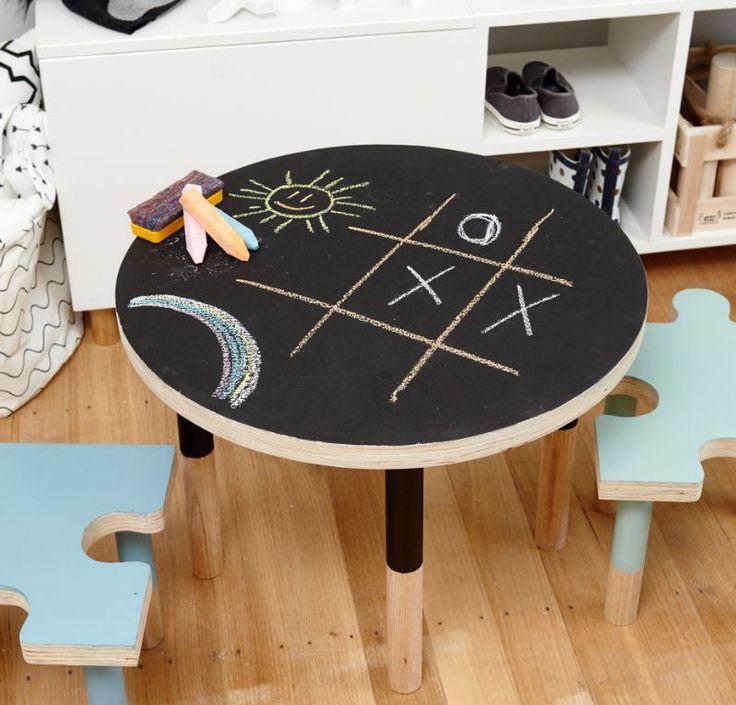 An easy project for your budding little artist #bunnings #blackboard #kids
