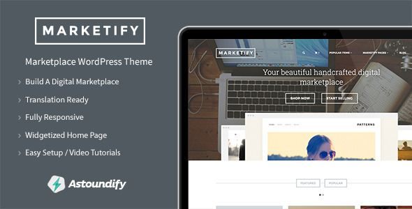 Marketify - Digital Marketplace WordPress Theme (eCommerce)