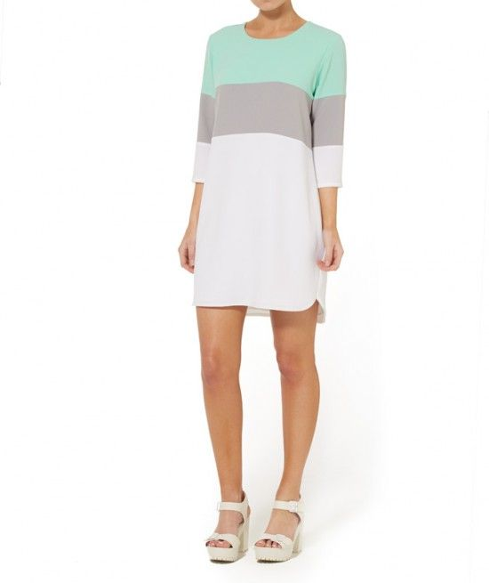 SPLICED SHIFT DRESS - Sportsgirl - $99.95