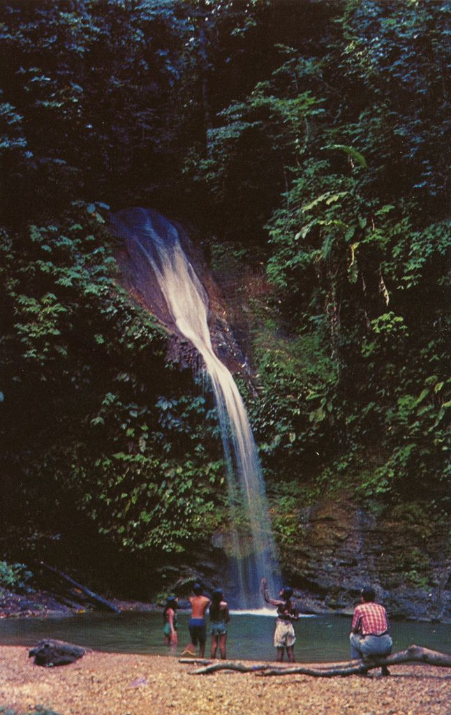 The Blue Basin Waterfall, Trinidad | by Striderv