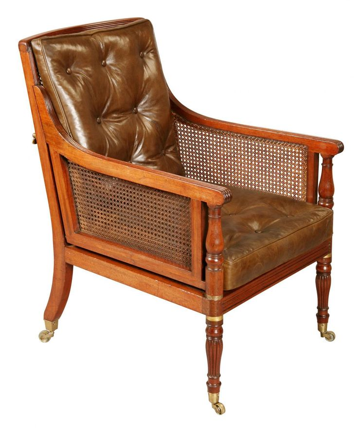 Mahogany Campaign Bergere Chair. | Looking For Antiques - 68 Best Looking For Antiques Chairs Images On Pinterest Antique