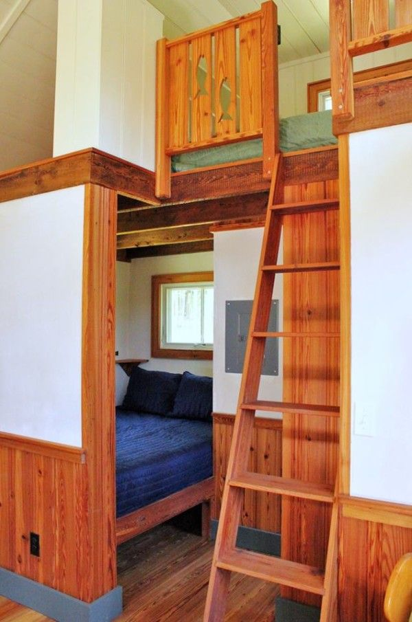 30 Built It Yourself Log Cabin Plans I Absolutely Like: Nice To Have A Downstairs Room As An