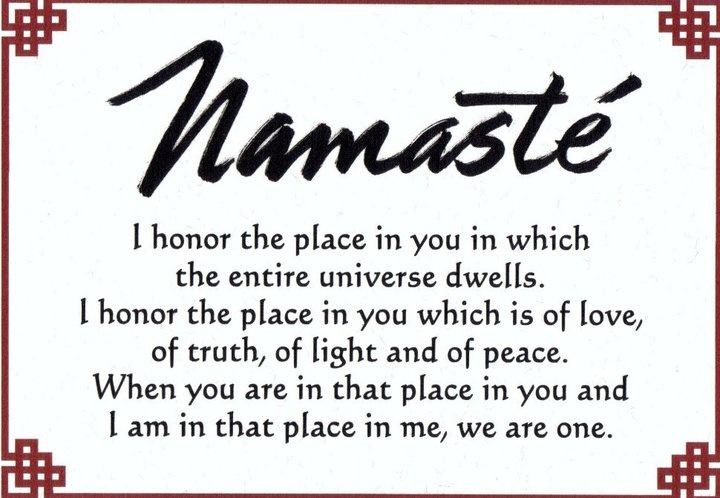 Namaste: Inspiration, Quote, Namaste, Namaste, Spirit, Meditation, Well, Living, Mean Of Life