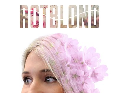 """Check out new work on my @Behance portfolio: """"ROTBLOND Flower"""" http://on.be.net/1KXGmdD"""