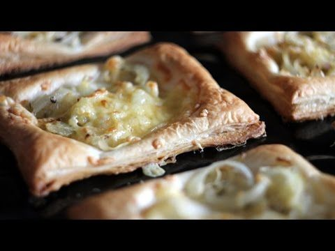 Proste tartaletki z cebulą - YouTube
