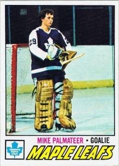 Mike Palmateer Rookie Card 1977-78