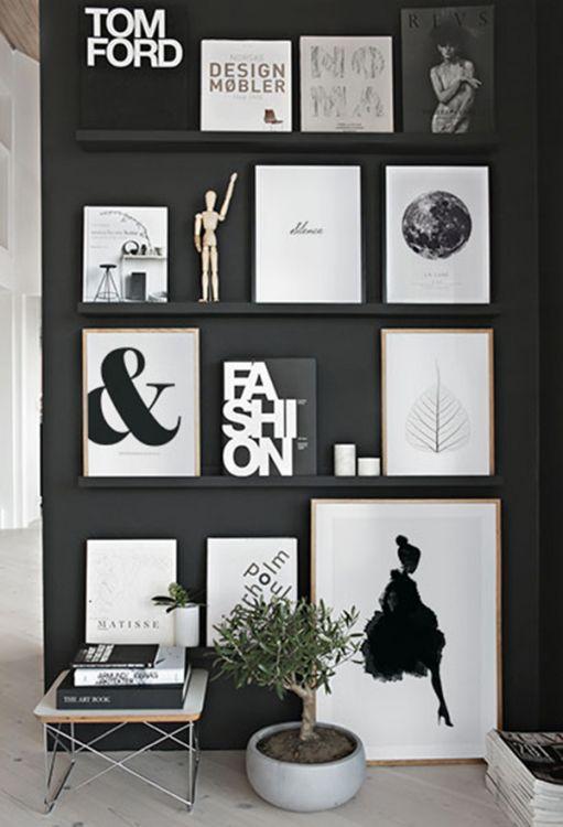 Tips til innredning og bildevegg i gangen | Fin gang med plakater og posters | Desenio