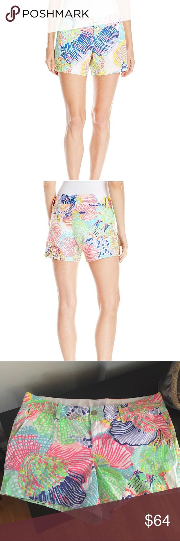 NWT Lilly Pulitzer Callahan Short Roar of the Seas Brand new with tags. First two photos are stock photos from Amazon.com. Size 14, I have heard they run BIG, so this pair may fit more like a 16- not sure. Thanks for looking! Lilly Pulitzer Shorts