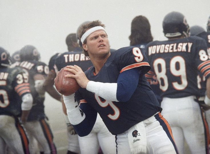 Jim McMahon, Chicago Bears  I had a crush on this guy in the early 80s!