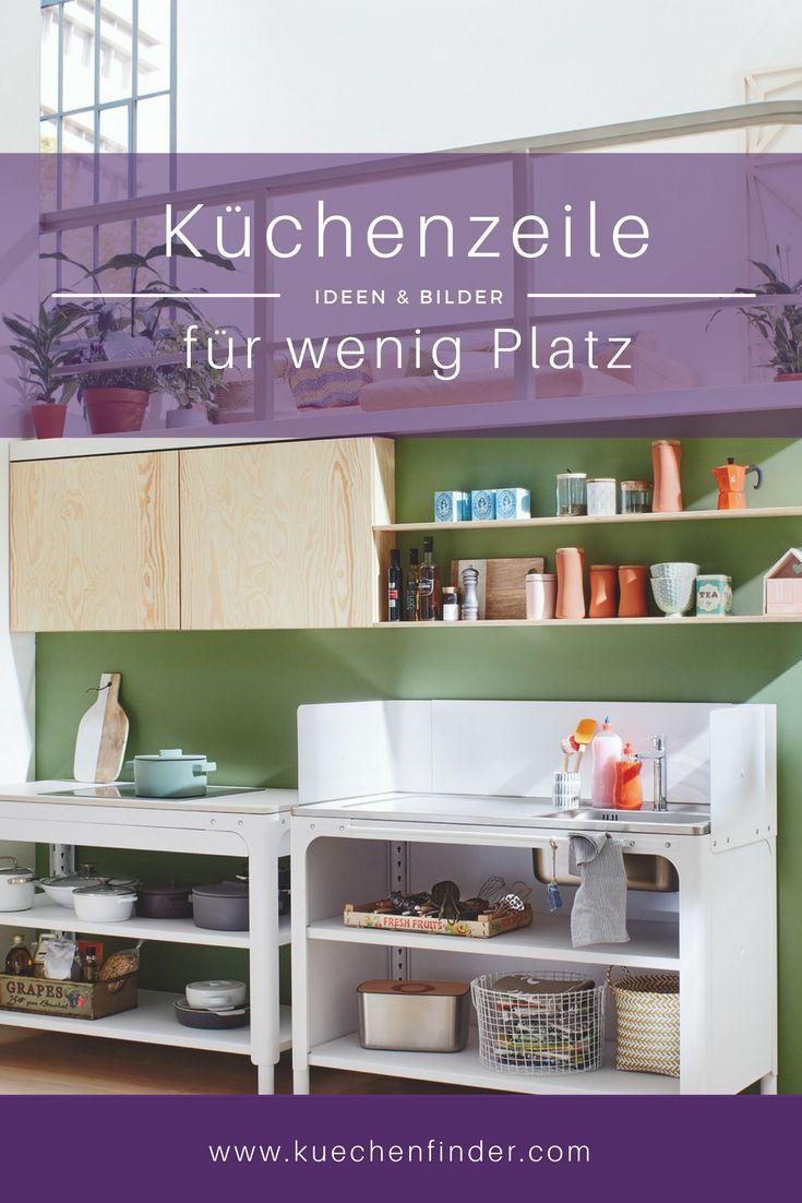 47 best Kleine Küchen - Viel Platz auf kleinem Raum images on ...
