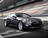Hyundai Genesis Coupe in Premio Gray