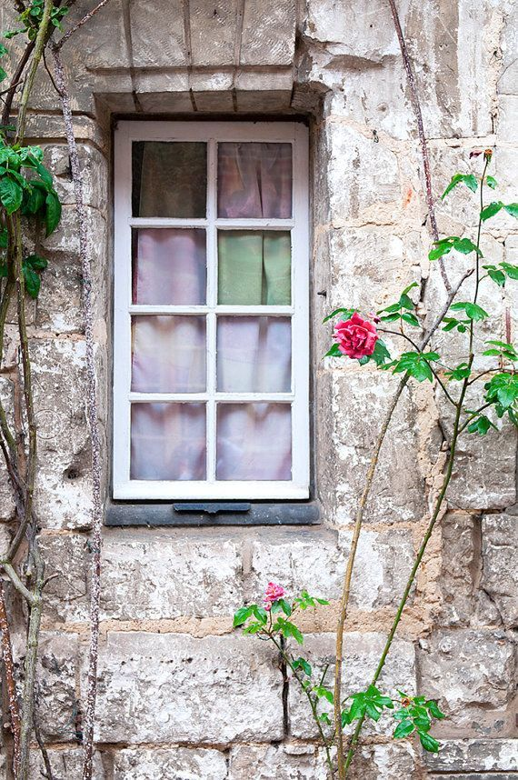 French Country Photography Cottage Window Romantic Home