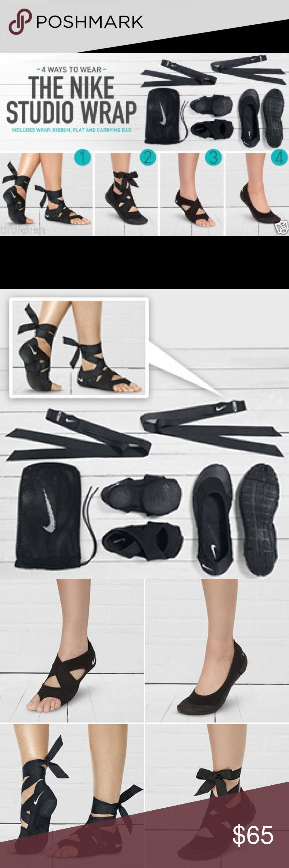 Nike Studio Wrap Pack Details  Designed to help you make the most of workouts that you typically do in bare feet, the Studio Wrap 3 Shoes are perfect for yoga, dance, Pilates, cardio workouts and core / strength training. Nike Shoes Athletic Shoes