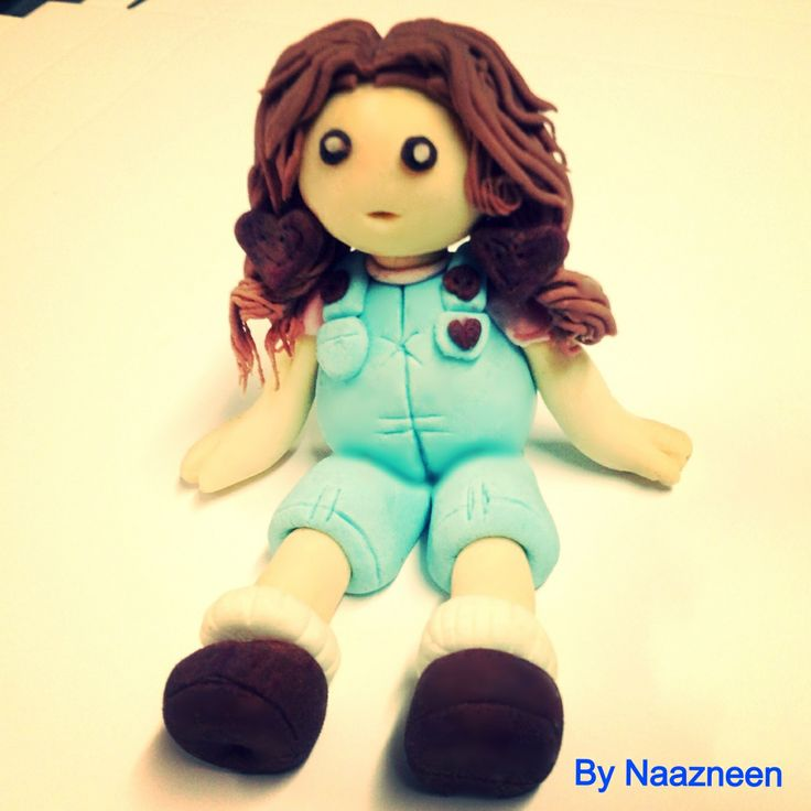 Rag doll cake topper by Naazneen