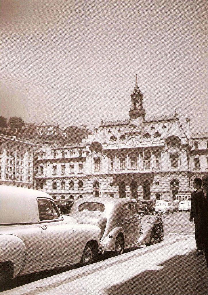 Valparaíso (Chile)  | el edificio de la Intendencia de Valparaiso 1958, foto de…