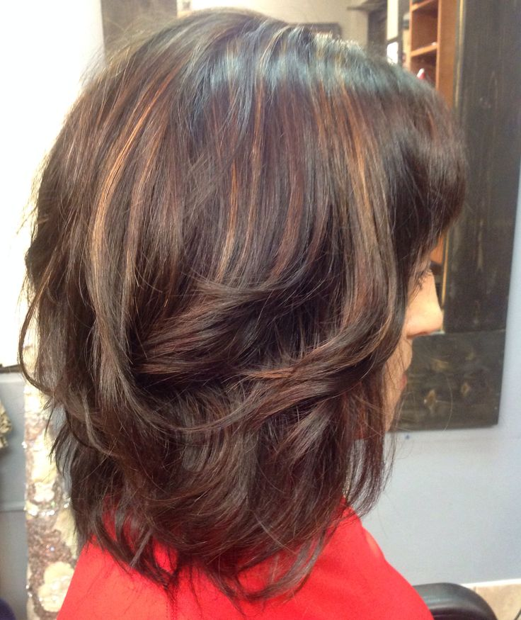 simply hair styles hair with highlights brown with highlights 8333