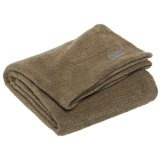 Columbia Pique Coral Fleece Throw, Pebble (Kitchen)By Columbia