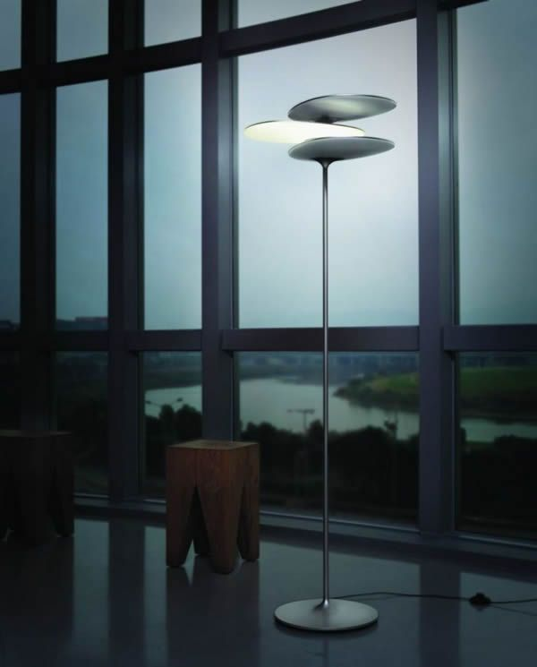 Standout industrial design for lighting and lamps the coral reef led floor light by taiwan based lighting company qisdesign winner of the 2011 red dot