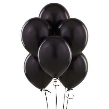 Siyah Renkli Latex Parti Balonları 10 AdetParti Süslemelerinize Siyah Rengi ile Şık Bir Dokunuş! Büyükten küçüğe hepimiz Balonları çok severiz. Onlar olmadan eğlenceli bir kutlama hayal etmek imkansızdır. Kutlamaların vaz geçilmez parti malzemeleri latex balonlar ile kutlamalarınızı renklendirebilirsiniz.  Paket içinde Siyah Renkli 10 adet baskılı balon mevcuttur.  Ne zaman teslim alırım  Hafta içi saat 14:00'a kadar verilen siparişler aynı gün kargoya teslim edilir.