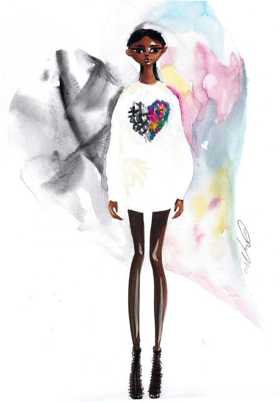 147 best fashion illustration images on Pinterest Fashion