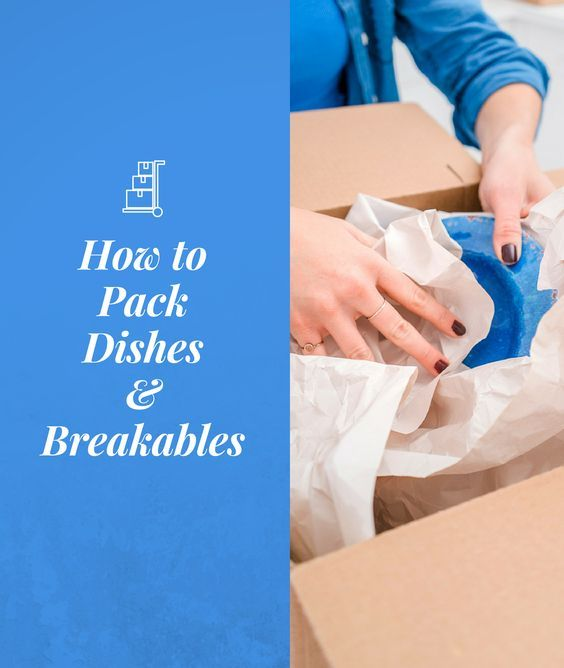 how to pack dishes for moving video