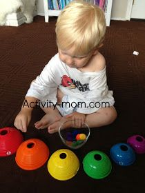 learning colors and other quick, fun activities for growing boys!