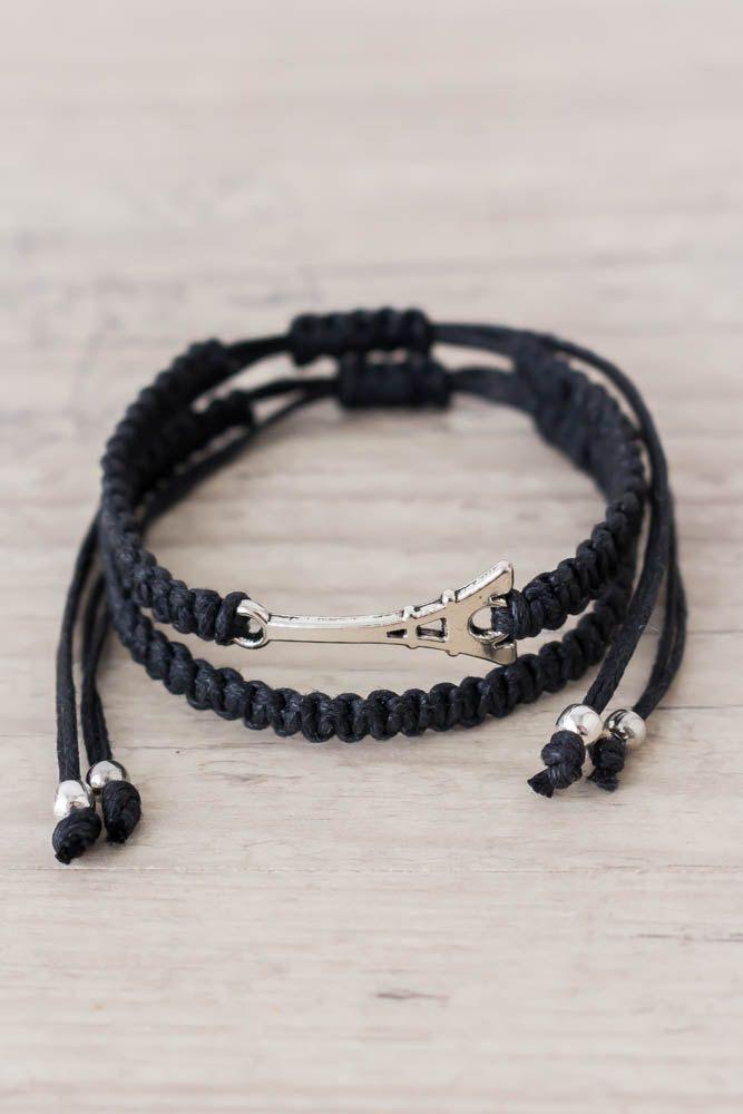 Bracelet ancre couple - Bracelet couple ancre ...