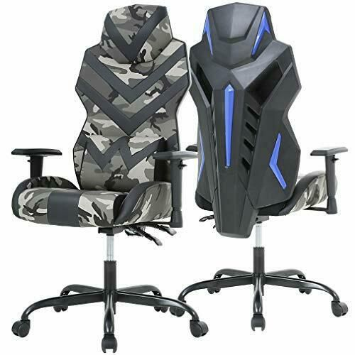 Sponsored Ebay Racing Style Pu Gaming Chair Ergonomic Swivel Rolling Chair Computer Camo Gaming Chair Computer Chair Pc Gaming Chair