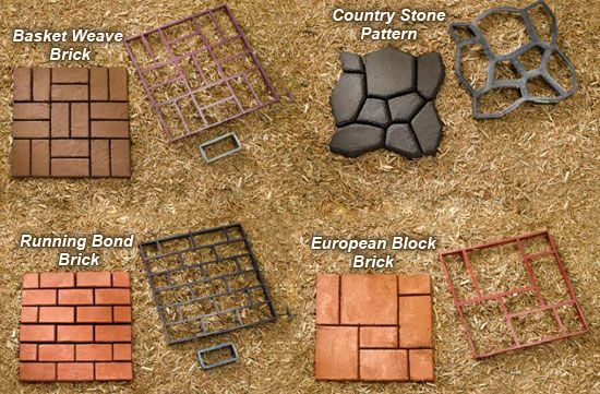Awesome DIY Concrete Cobblestone Paths Ideas